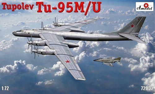 Tupolev Tu-95M/U BEAR Soviet turboprop strategic bomber 1/72