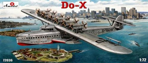 Dornier Do-X flying boat  1/72