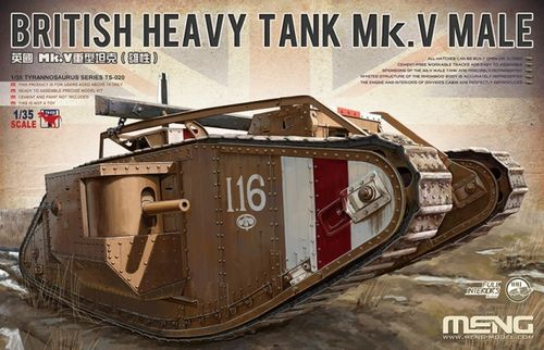 British Heavy Tank Mk. V Male 1/35