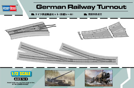 German Railway Turnout (wissel) 1/72