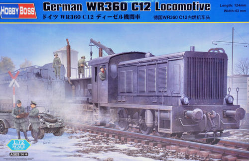 German WR360 C12 Locomotive  1/72