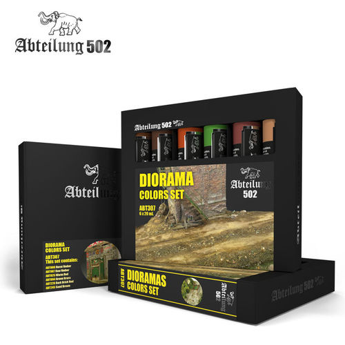 Abteilung502 Diorama Colors Set