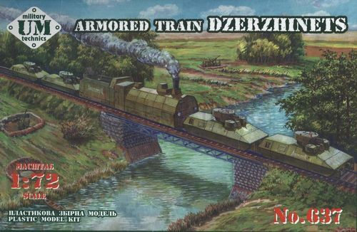 """Dzerzhinets"" armored train   1/72"