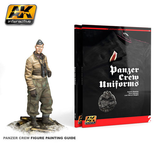 PANZER CREW UNIFORMS PAINTING GUIDE Learning Series No:1 2nd edition