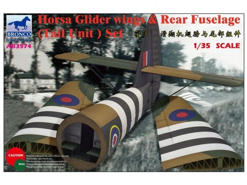 Horsa Glider Wing & Rear Fuselage (Tail) 1/35