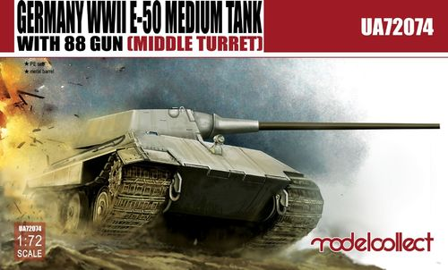 E-50 Medium Tank with 88 gun (large turret)