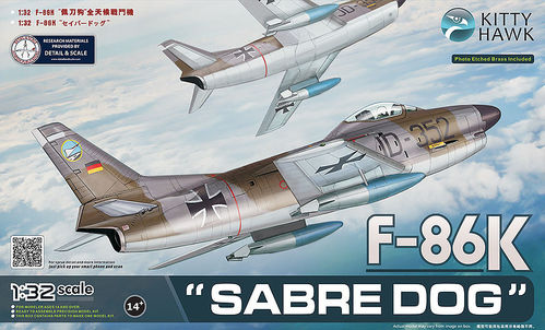 "F-86D ""Sabre Dog"" Export Interceptor"