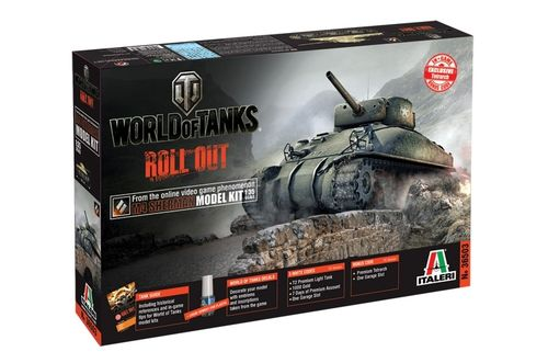 World of Tanks - M4 Sherman  1/35