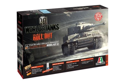 World of Tanks - Pz.Kpw.VI Tiger  1/35