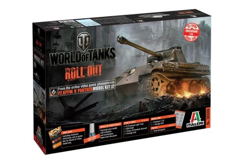World of Tanks - Pz. Kpfw. V Panther 1/35