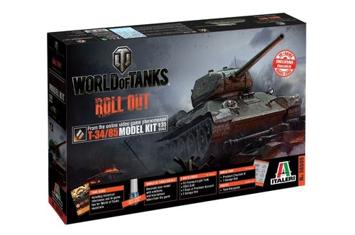 World of Tanks - T-34/85   1/35