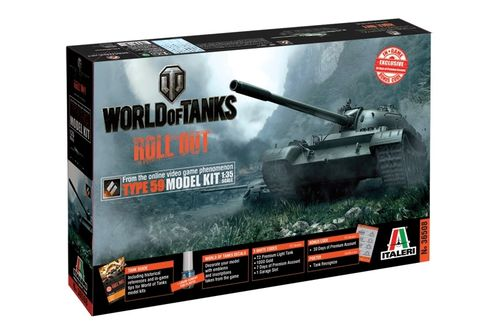 World of Tanks - Type 59 1/35