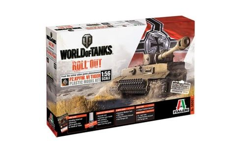 World of Tanks - Pz.Kpfw.VI TIGER I  1/56