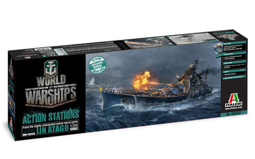 World of Warships - IJN ATAGO 1/700