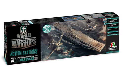 World of Warships - USS ESSEX 1/700