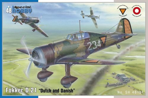 "Fokker D.21 ""Dutch and Danish"" 1/48"