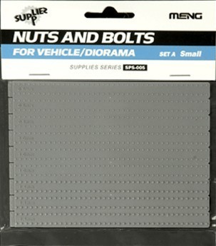 Nuts and Bolts SET A (small)  1/35