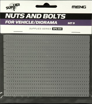 Nuts and Bolts SET D 1/35