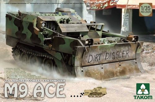 US Armored Combat Earthmover M9 ACE 1/35