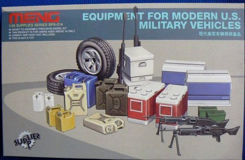 Equipment For Modern U.s. Military Vehicle 1/35