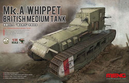 Mk.A WHIPPET BRITISH MEDIUM TANK 1/35