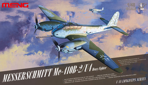 Messerschmitt Me-410B-2/U4 Heavy Fighter  1/48