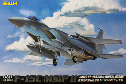 F-15C MSIP II United States Air National Guard 1/48