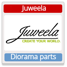Juweela Diorama Parts