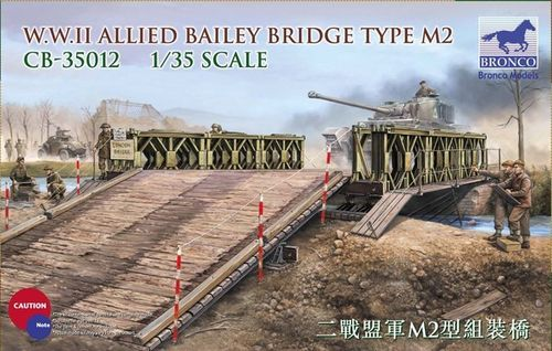 WWII Allied Bailey Bridge Type M2 1/35