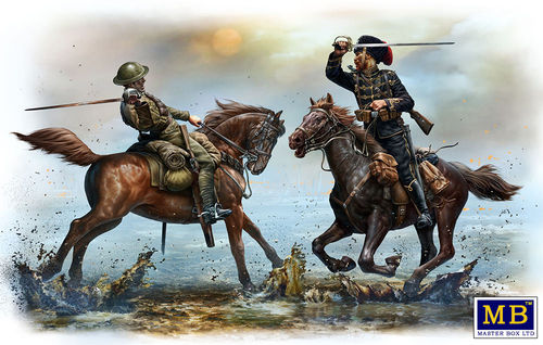 British and German Cavalrymen, WWI 1/35