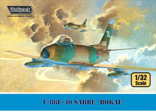 F-86F-40 SABRE 'Republic of Korean Air Force'  1/32