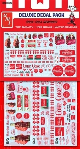 Coca-Cola Decal Pack 1/25
