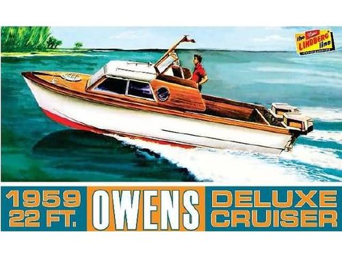 1959 Owens Outboard Cruiser Boat   1/25