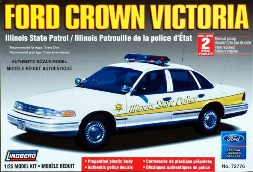 Ford Crown Victoria Illinois Police Car 1/25