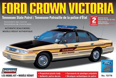 Ford Crown Victoria Tennessee State Patrol  1/25