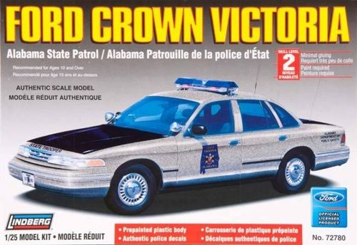 Ford Crown Victoria Alabama State Patrol 1/25