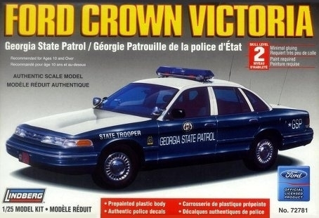 Ford Crown Victoria Georgia State Police  1/25