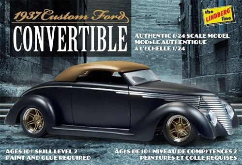37 Ford Custom Convertible  1/25