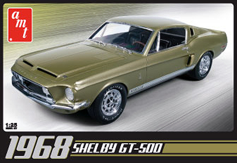 68 SHELBY GT500 1/25