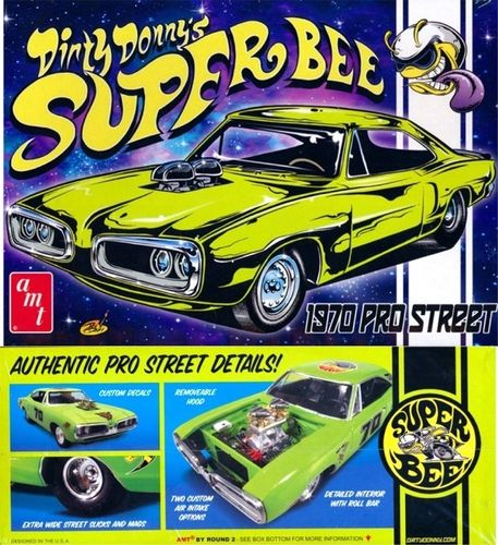 70 Dirty Donny DODGE CORONET 1/25