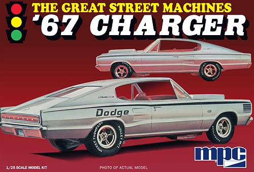 "1967 Charger ""Great Street Machines"" 1/25"