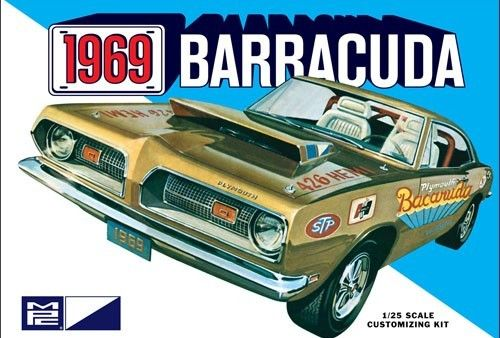 1969 Plymouth Barracuda 1/25