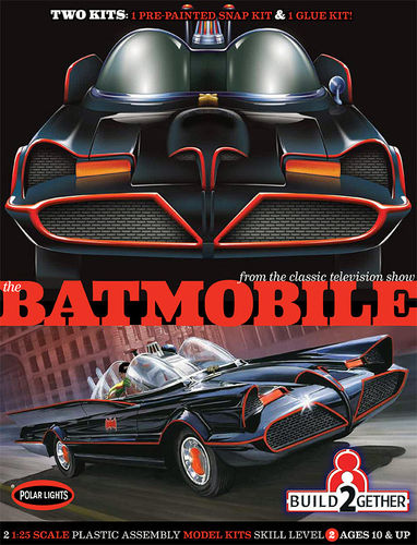 BATMOBILE 2-PACK 1/25