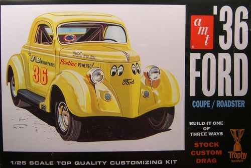 36 FORD COUPE 1/25