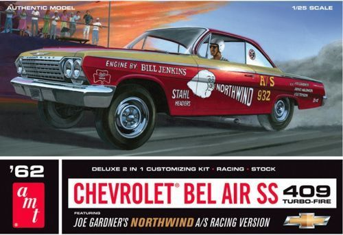 62 CHEVY BEL AIR Super Stock.1/25