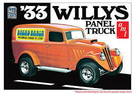 33 Willys Panel Truck