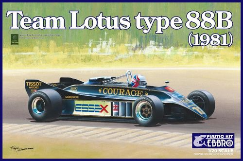 Team Lotus Type 88B 1981 Courage  1/20