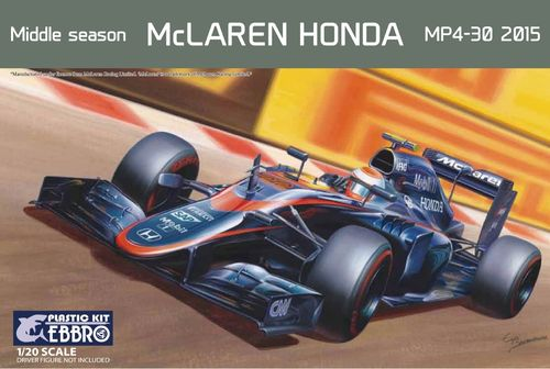 2015 Honda MP4-30 Mid Season 1/20