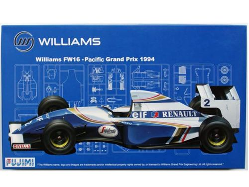 WILLIAMS FW 16 BRAZIL 1/20