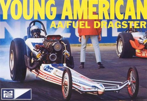 CARL CASPER Young American Dragster 1/25